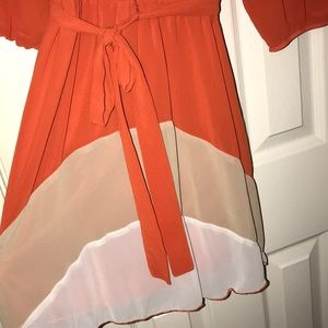 Dresses - Orange Dress